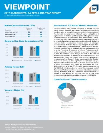 2017 Mid-Year Viewpoint Sacramento Retail Report