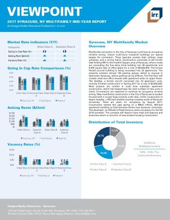 2017 Mid-Year Viewpoint Syracuse Multifamily Report