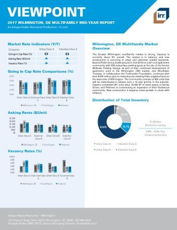 2017 Mid-Year Viewpoint Wilmington Multifamily Report