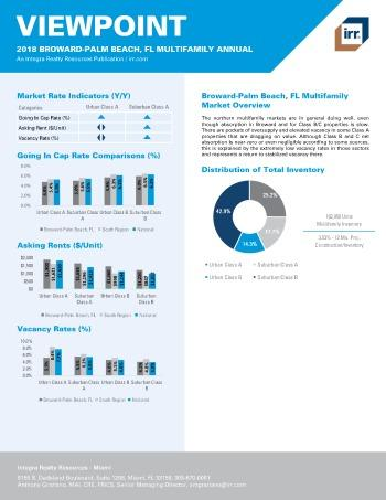 2018 Viewpoint Broward-Palm Beach Multifamily Report