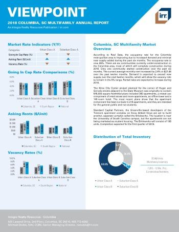 2018 Viewpoint Columbia Multifamily Report