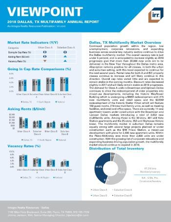 2018 Viewpoint Dallas Multifamily Report