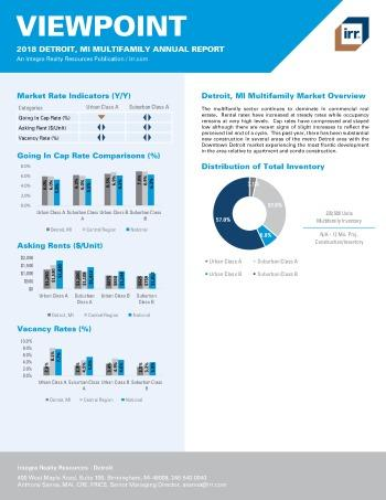 2018 Viewpoint Detroit Multifamily Report