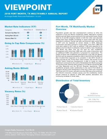 2018 Viewpoint Fort Worth Multifamily Report