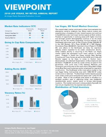 2018 Viewpoint Las Vegas Retail Report