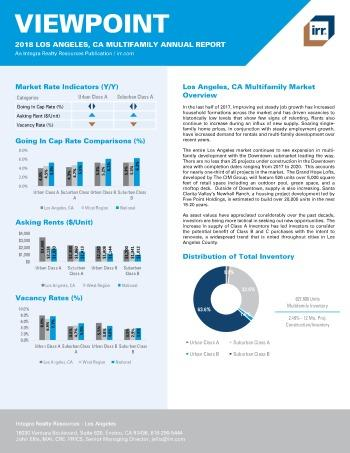 2018 Viewpoint Los Angeles Multifamily Report