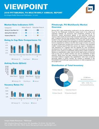 2018 Viewpoint Pittsburgh Multifamily Report