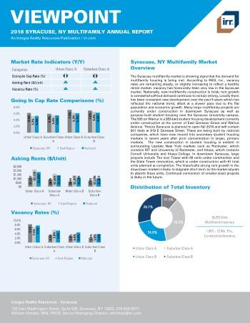 2018 Viewpoint Syracuse Multifamily Report