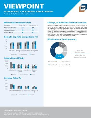 2019 Annual Viewpoint Chicago Multifamily Report