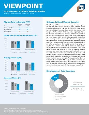 2019 Annual Viewpoint Chicago Retail Report
