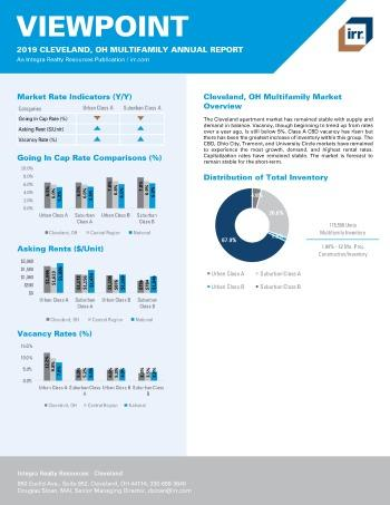 2019 Annual Viewpoint Cleveland Multifamily Report
