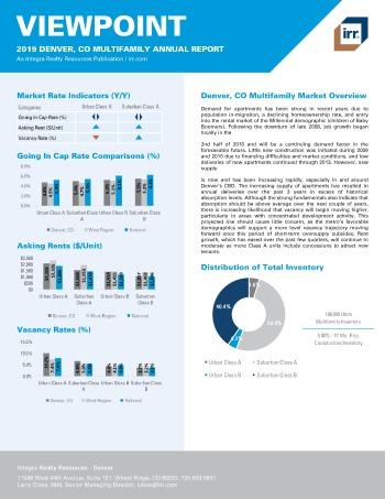 2019 Annual Viewpoint Denver Multifamily Report
