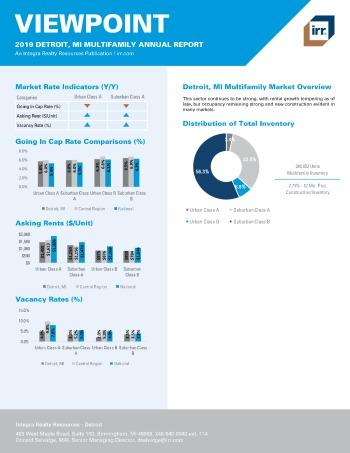 2019 Annual Viewpoint Detroit Multifamily Report