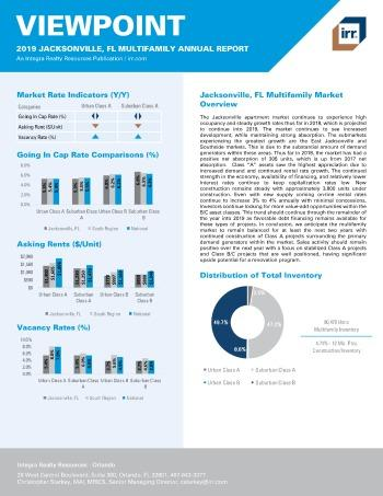 2019 Annual Viewpoint Jacksonville Multifamily Report