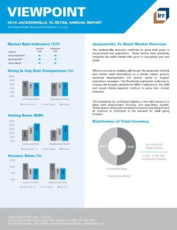 2019 Annual Viewpoint Jacksonville Retail Report
