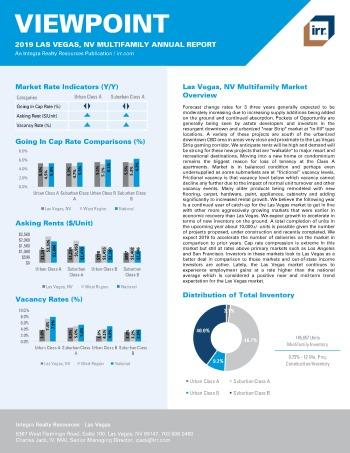 2019 Annual Viewpoint Las Vegas Multifamily Report