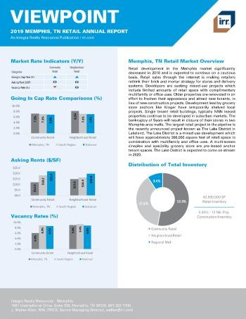 2019 Annual Viewpoint Memphis Retail Report