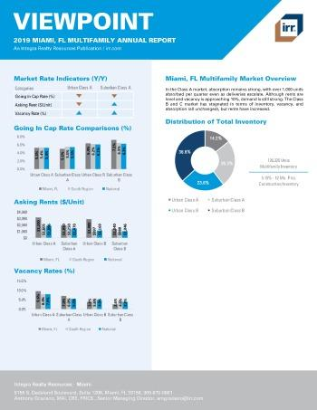 2019 Annual Viewpoint Miami Multifamily Report