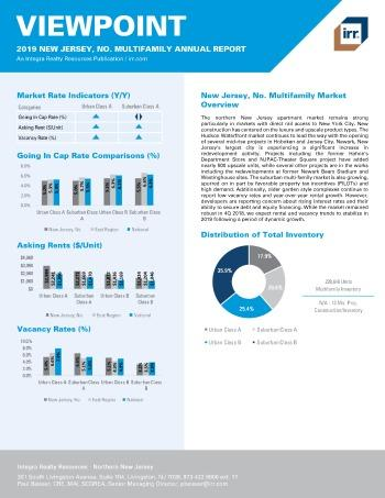 2019 Annual Viewpoint New Jersey Northern Multifamily Report