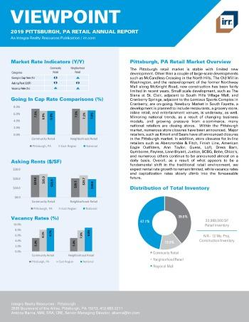 2019 Annual Viewpoint Pittsburgh Retail Report