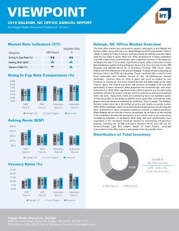 2019 Annual Viewpoint Raleigh Office Report