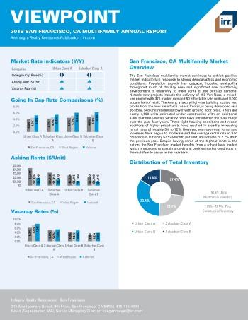 2019 Annual Viewpoint San Francisco Multifamily Report