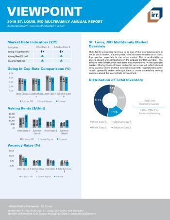2019 Annual Viewpoint St. Louis Multifamily Report