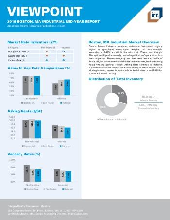2019 Mid-Year Viewpoint Boston Industrial Report
