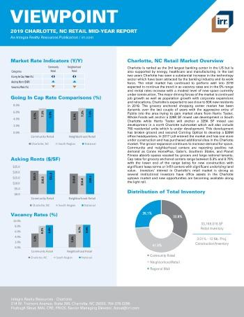2019 Mid-Year Viewpoint Charlotte Retail Report