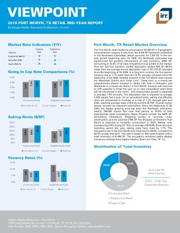 2019 Mid-Year Viewpoint Fort Worth Retail Report