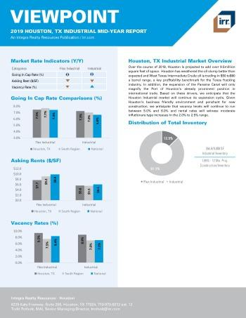 2019 Mid-Year Viewpoint Houston Industrial Report