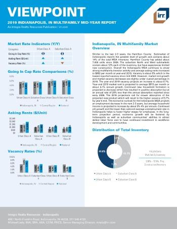 2019 Mid-Year Viewpoint Indianapolis Multifamily Report