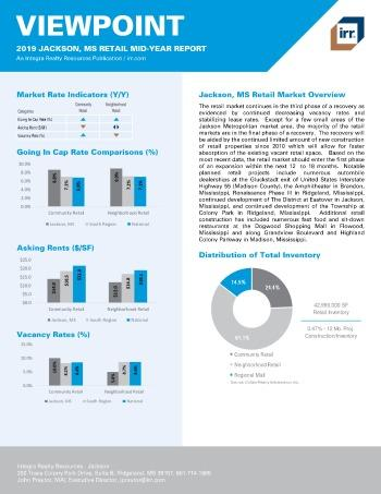 2019 Mid-Year Viewpoint Jackson Retail Report