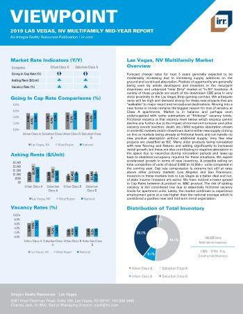 2019 Mid-Year Viewpoint Las Vegas Multifamily Report