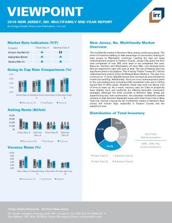 2019 Mid-Year Viewpoint New Jersey Northern Multifamily Report