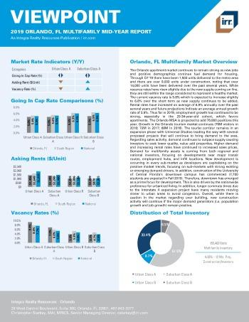 2019 Mid-Year Viewpoint Orlando Multifamily Report