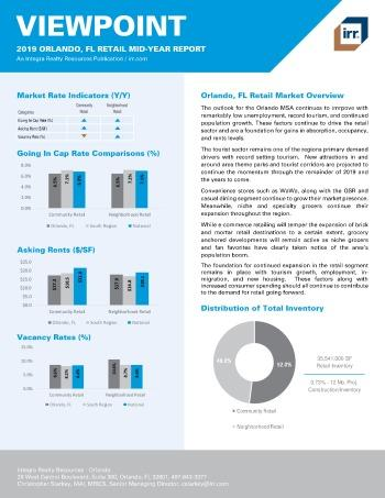 2019 Mid-Year Viewpoint Orlando Retail Report
