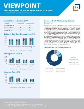 2019 Mid-Year Viewpoint Richmond Multifamily Report