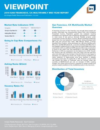 2019 Mid-Year Viewpoint San Francisco Multifamily Report