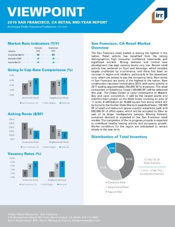 2019 Mid-Year Viewpoint San Francisco Retail Report