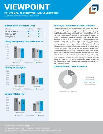 2019 Mid-Year Viewpoint Tampa Industrial Report