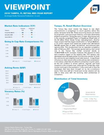 2019 Mid-Year Viewpoint Tampa Retail Report