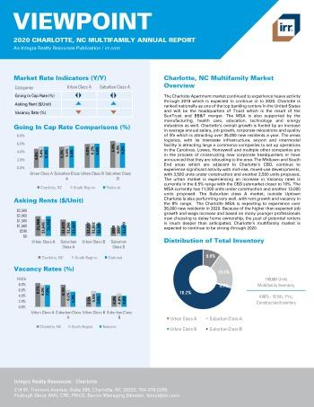 2020 Annual Viewpoint Charlotte Multifamily Report