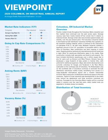 2020 Annual Viewpoint Columbus Industrial Report
