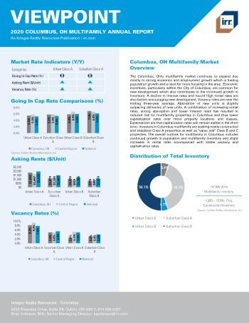 2020 Annual Viewpoint Columbus Multifamily Report