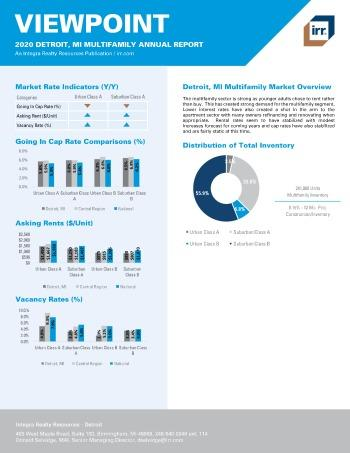 2020 Annual Viewpoint Detroit Multifamily Report