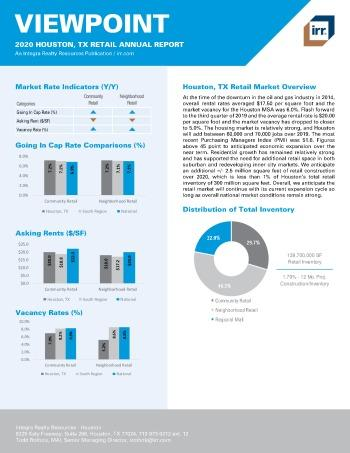 2020 Annual Viewpoint Houston Retail Report