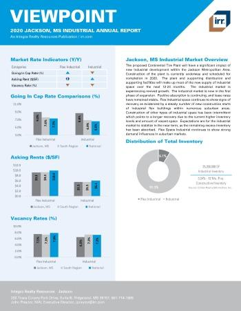 2020 Annual Viewpoint Jackson Industrial Report