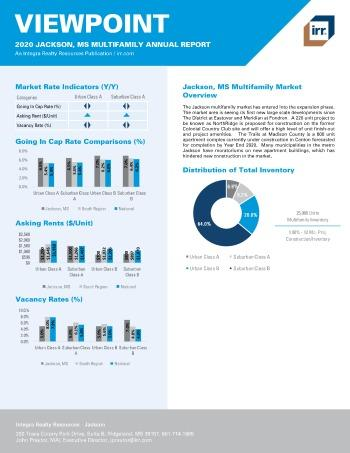 2020 Annual Viewpoint Jackson Multifamily Report
