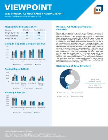 2020 Annual Viewpoint Phoenix Multifamily Report